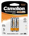 Camelion Rechargeable Batteries Ni-MH 2x AA (R06) 2700mAh + Battery case Baterija