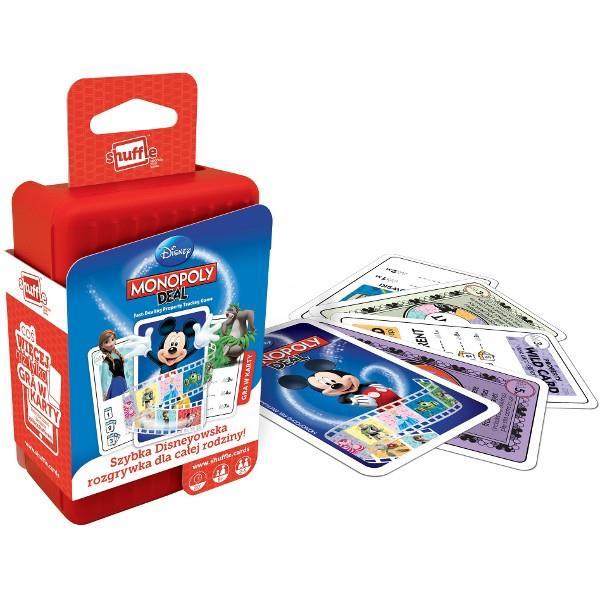 CARTAMUNDI Shuffle Monopoly Deal galda spēle