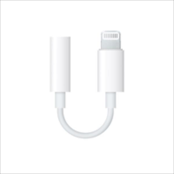 Apple Lightning to 3.5 mm Headphone Jack Adapter aksesuārs mobilajiem telefoniem