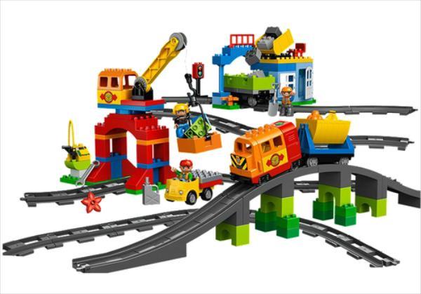 LEGO Deluxe Train Set V110 10508 LEGO konstruktors