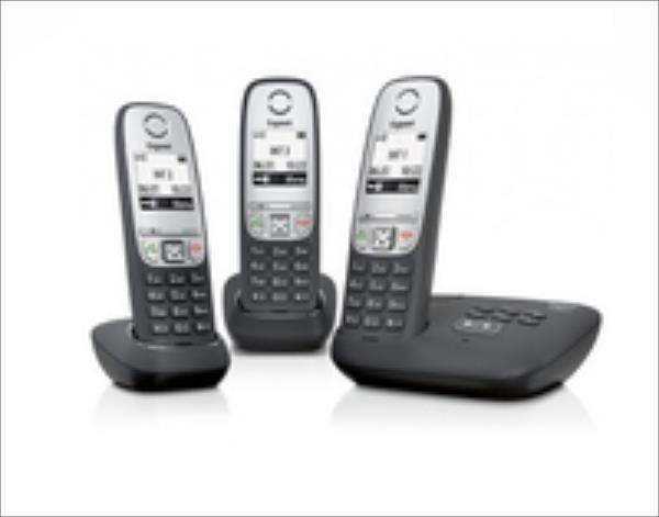Gigaset A415 A Trio telefons
