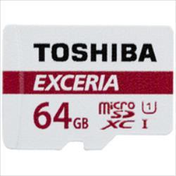 TOSHIBA 64GB microSD M301 EXCERIA R48 atmiņas karte