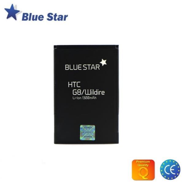 BlueStar Akumulators HTC G8 Wildfire Li-Ion 1300 mAh Analogs BA S420 aksesuārs mobilajiem telefoniem