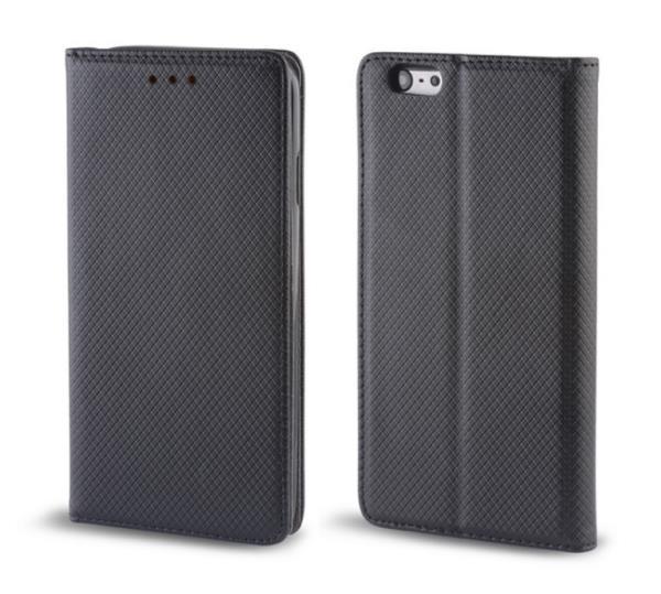 Forever Magnēstikas Fiksācijas Sāniski atverams maks bez klipša Xiaomi Redmi Note 3 Melns aksesuārs mobilajiem telefoniem