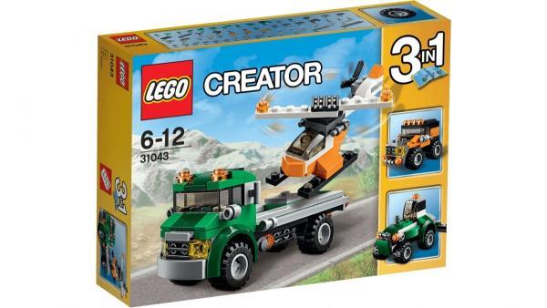LEGO Creator Chopper     Transporter 31043 LEGO konstruktors