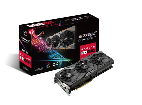ASUS Radeon RX580 STRIX O8G Gaming, 8192 MB GDDR5 video karte