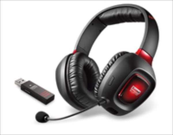 Creative SoundBlaster Tactic3D Rage Wireless V2 austiņas
