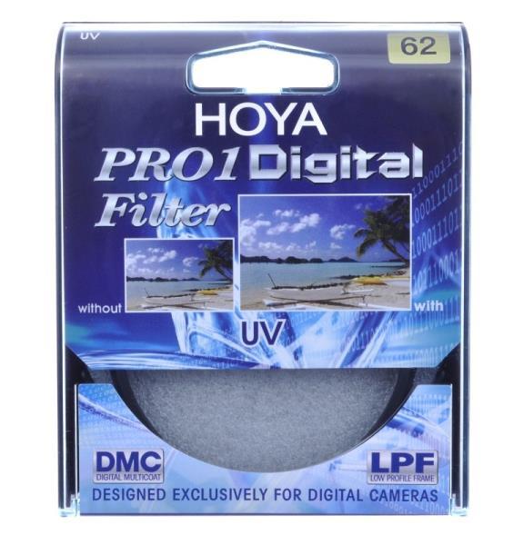 HOYA UV (0) PRO1D 62 MM UV Filtrs