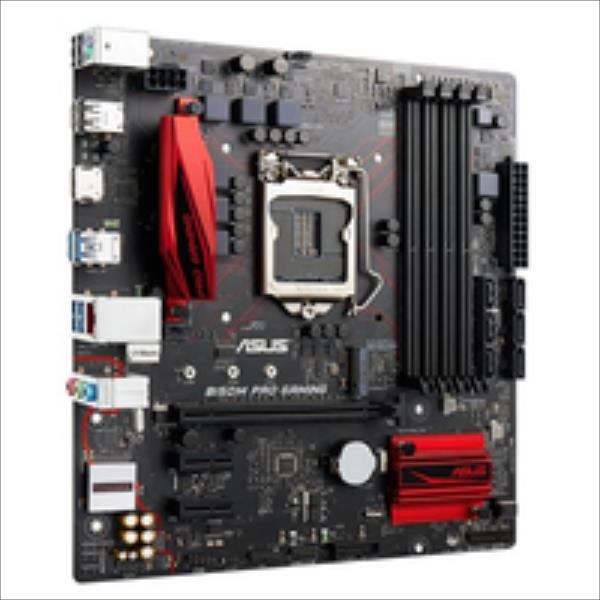 ASUS B150M PRO GAMING / Intel B150 / 4 x DIMM, Max. 64GB, DDR4 2133 / Integrated Graphics Processor : HDMI Expansion: 1x PCIe 3.0/2.0 x16, m pamatplate, mātesplate