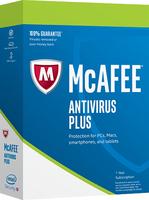 McAfee 2017 AntiVirus Plus 10 Gerate (Code in a Box) programmatūra