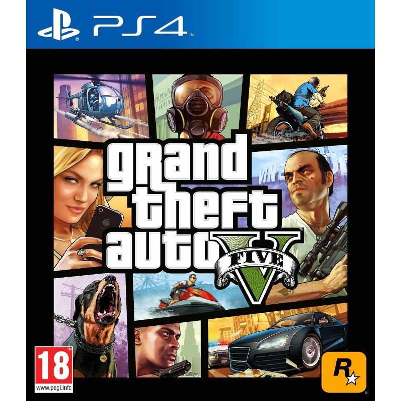 SONY PS4 Grand Theft Auto V (5)