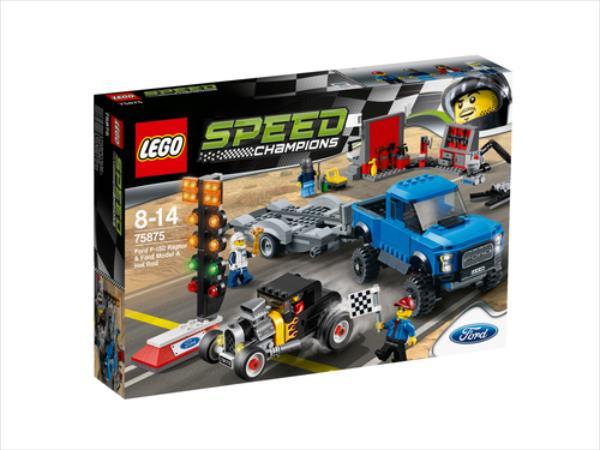 LEGO Ford F150 Raptor & Ford Mod V29  75875 LEGO konstruktors