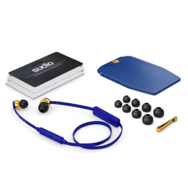 Sudio VASA-BLA-BLUE 112 dB, 18 - 23000 Hz, Wireless connection austiņas