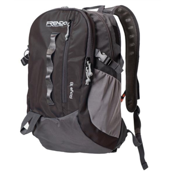 Frendo Roya 18L Backpack, Black + Rain cover portatīvo datoru soma, apvalks