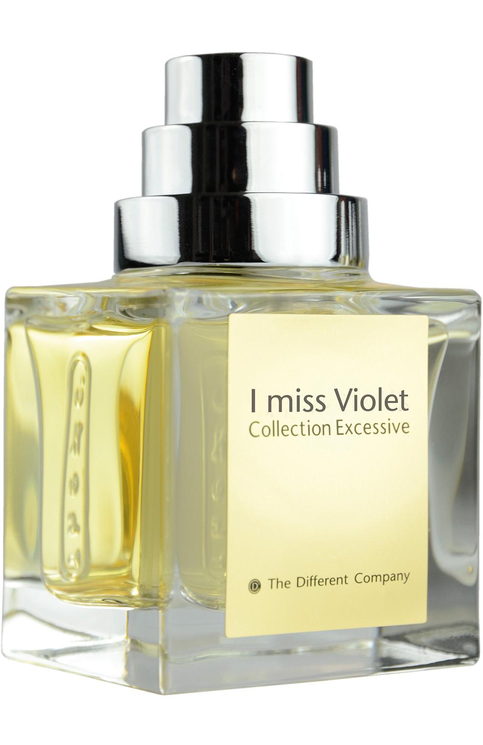 The Different Company I Miss Violet Unisex EDP spray 50ml Smaržas sievietēm
