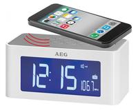 AEG MRC 4140 White radio, radiopulksteņi