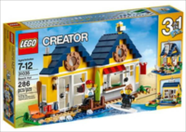 LEGO Beach Hut  31035 LEGO konstruktors