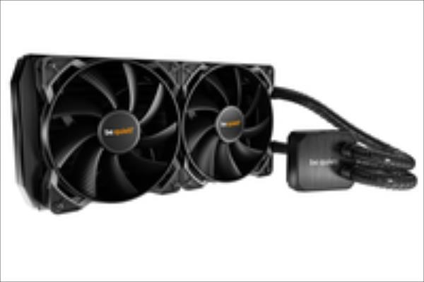 be quiet  water cooler Silent loop 280mm, LGA 115*, 1366, 2011, AMD AM2+ AM3+ ūdens dzesēšanas sistēmas piederumi