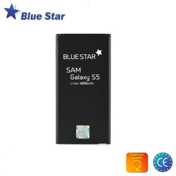 BlueStar Akumulators Samsung G900 Galaxy S5 Li-Ion 3000 mAh Analogs EB-BG900BBE aksesuārs mobilajiem telefoniem