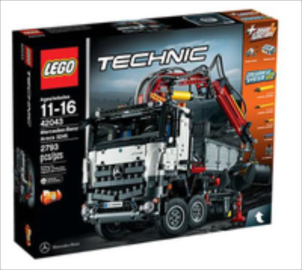 LEGO Mercedes-Benz Arocs 3245  42043 LEGO konstruktors
