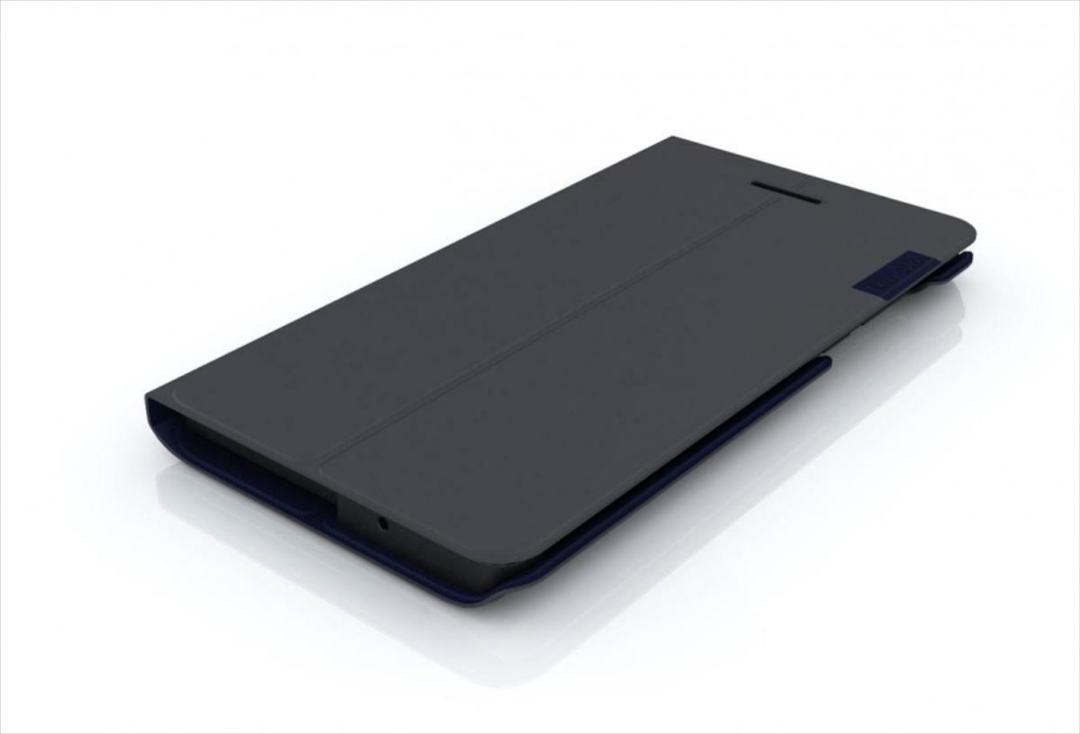 LENOVO TAB3 7 E Folio Case and Film(Black-WW) portatīvo datoru soma, apvalks