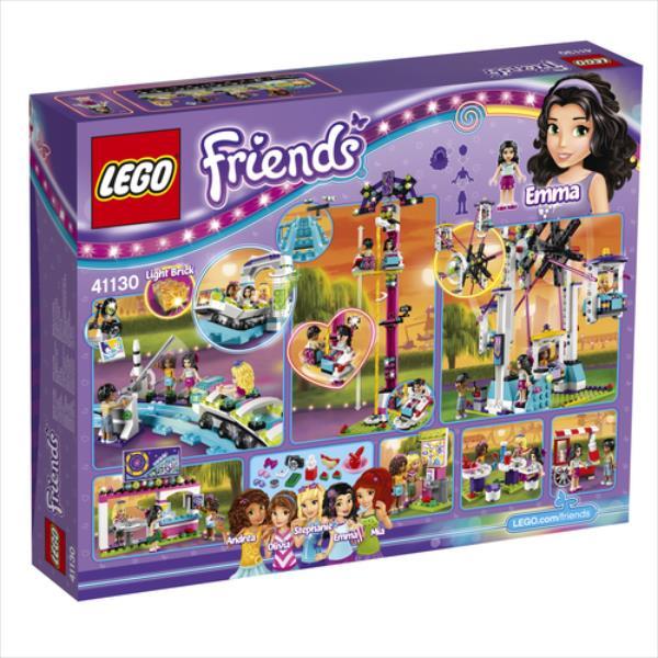 LEGO Friends Amusement Park Roller Coaster 1124pcs 41130 LEGO konstruktors