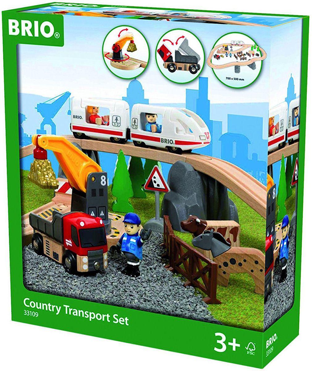 Brio Country Transport Set Rotaļu auto un modeļi