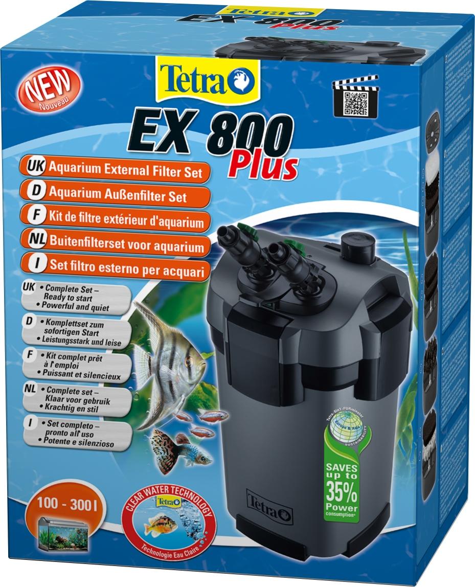 Tetra Tetra External Filter EX 800 Plus 100-300l akvārija filtrs