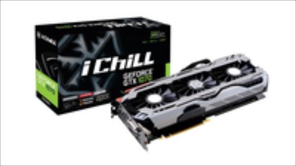 Inno3D iChill GeForce GTX 1070 X4, 8GB GDDR5 (256 Bit), HDMI, DVI, 3xDP video karte