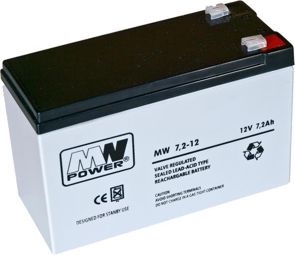 MPL Power Akumulator 12V/7,2Ah (Aku12v72) UPS aksesuāri