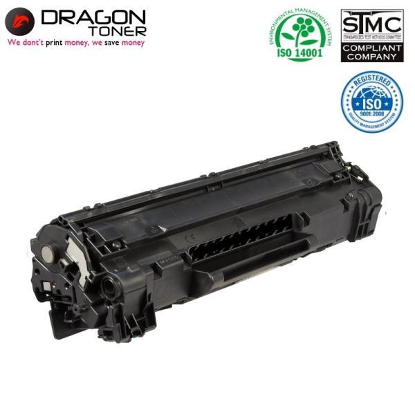 Dragon HP 85A CE285A / Canon CRG-725 Lāzerdrukas kasete 1.6K Lapas HQ Premium Analogs aksesuārs mobilajiem telefoniem