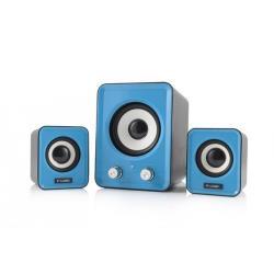 LOGIC Speakers LS-20 blue [ 2.1] datoru skaļruņi