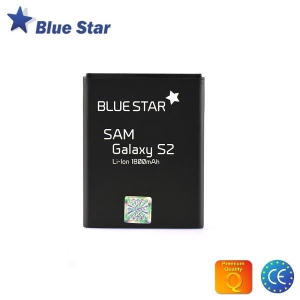 BlueStar Akumulators Samsung i9100 i9103 i9105 Galaxy S2 Li-Ion 1800 mAh Analogs EB-F1A2GBU aksesuārs mobilajiem telefoniem