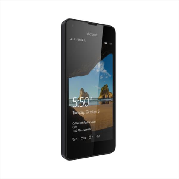 Microsoft Lumia 550 8GB 4G Melns Mobilais Telefons