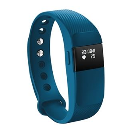 Acme Activity tracker ACT05B ; OLED, Blue, Bluetooth, Built-in pedometer, Heart rate monitor, Waterproof, 120 g sporta pulkstenis, pulsometrs