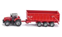 Siku Farmer tractor Massey Ferguson with trailer galda spēle