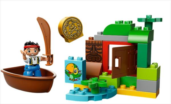 LEGO Jake's Treasure Hunt V29 10512 LEGO konstruktors