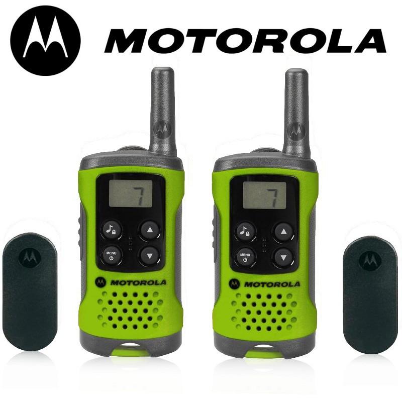 Motorola T41 short-wave radio, 4km, green rācija rācijas