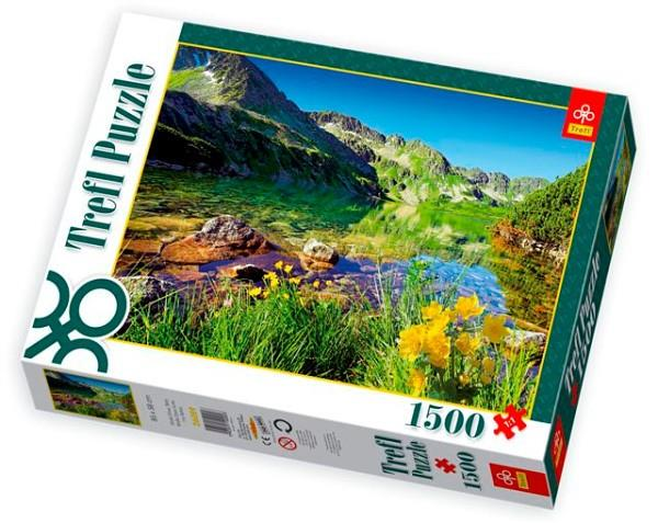 1500 ELEMENT  Wielki Staw, Tatry puzle, puzzle