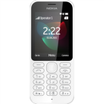 Nokia 222 Single SIM (White) 2.4