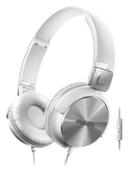 Philips SHL3165WT/00 White austiņas