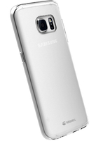 Krusell  Kivik Cover Transparent For Galaxy S7 Edge aksesuārs mobilajiem telefoniem