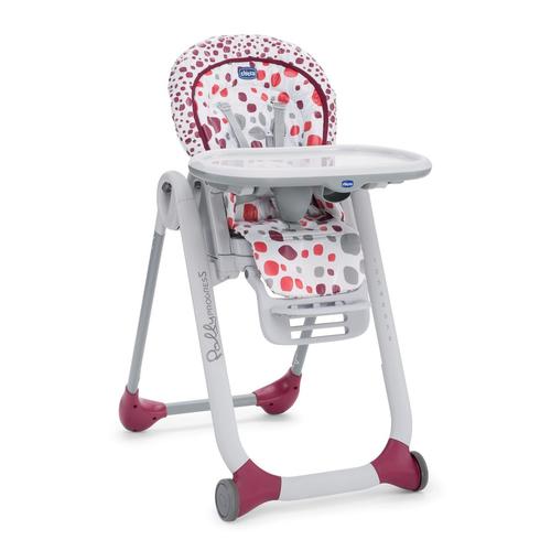Chicco Polly Progress Cherry bērnu barošanas krēsls