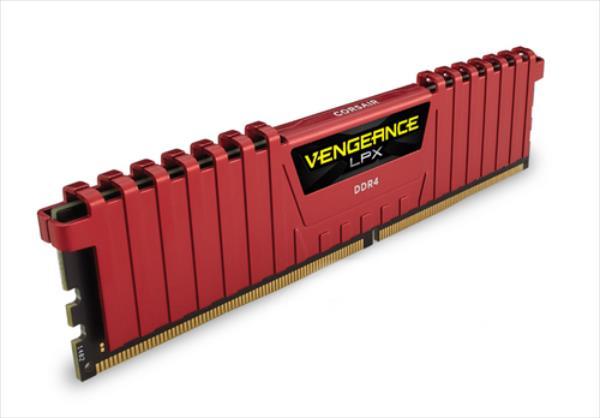 Corsair Vengeance LPX 16GB (2x8GB) DDR4 3600MHz C18 Memory Kit - Red operatīvā atmiņa