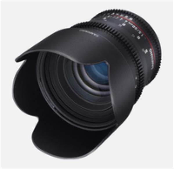 Samyang F1311104101 50MM T1,5 VDSLR PENTAX foto objektīvs