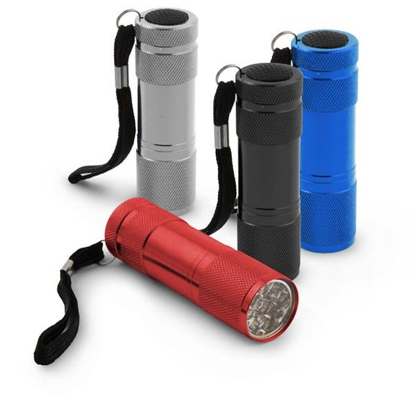 Esperanza EOT004M Mini Flashlight ALTAIR 9 LEDs (MIX colours) kabatas lukturis