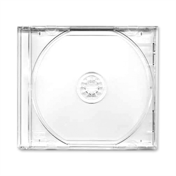 Dezutes Clear,  CD Box jewel clear