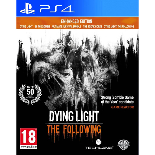 DYING LIGHT THE FOLLOWING: ENHANCED EDITION PS4