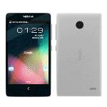 Nokia X+ DUAL white ENG/RUS Mobilais Telefons
