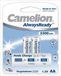 Camelion AlwaysReady Rechargeable Batteries Ni-MH (R06) 2x AA 2300mAh Baterija